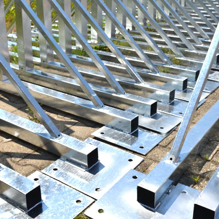Fußgestelle für Unterkonstruktionen