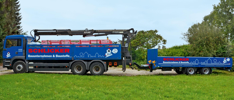 Folierung für LKW, Transporter und Baumaschinen