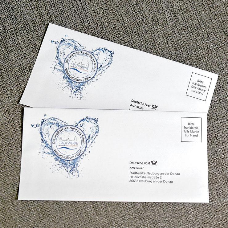 Kuverts und Breifumschläge in vielen Formaten und Materialien einfarbig oder mehrfarbig bedruckt.