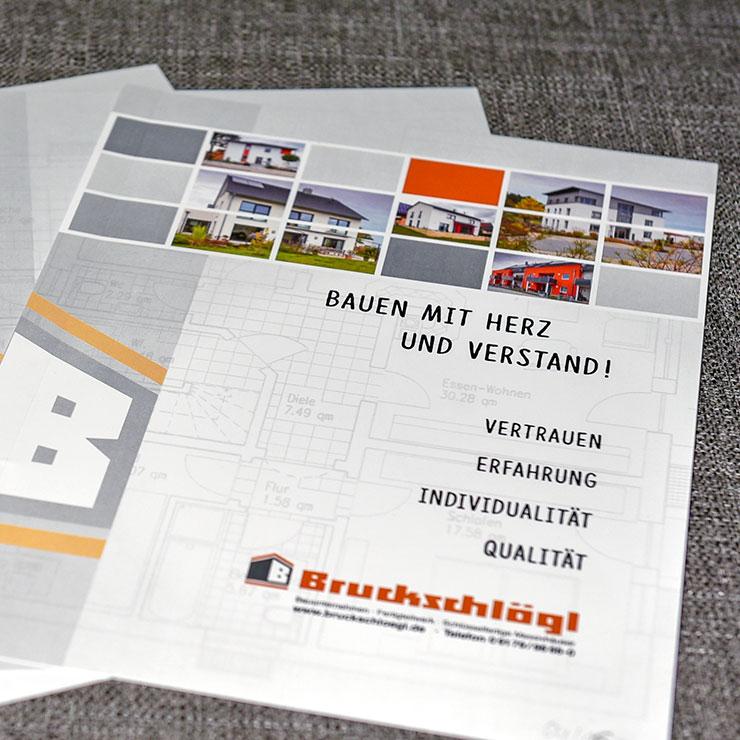 Individuelle Mappen für Produkt- und Datenblätter